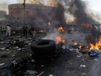 Atentat cu cel putin 11 morti, in Nigeria. O femeie cu un bebelus in spate s-a aruncat in aer cand a vazut soldatii
