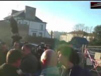 Fostul premier al Frantei, palmuit in campania electorala. In decembrie a fost atacat cu faina