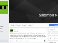 Postul Russia Today nu mai poate da LIVE pe Facebook ceremonia de investire a lui Donald Trump. De ce au rusii interdictie
