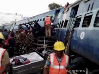 Tragedie in India: Peste 36 de morti si 50 de raniti din cauza deraierii unui tren in sudul tarii