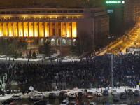 Legea amnistiei si a gratierii a scos in strada zeci de mii de oameni, in Capitala. FILMUL evenimentelor. GALERIE FOTO, VIDEO