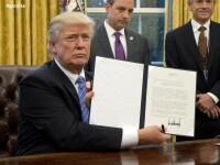 Prima decizie majora luata de Donald Trump. Statele Unite s-au retras din Parteneriatul Trans-Pacific
