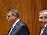 """Tăriceanu: """"Mă aştept ca preşedintele Iohannis să continue să fie avocatul statului paralel"""""""