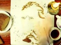 Un artist ucrainean creeaza portretele celebritatilor folosind legume, fructe sau paine. Din ce il va face pe Trump