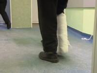 Picioare si maini rupte din cauza poleiului, la Pitesti si Baia Mare. Acuzatiile aduse de oameni autoritatilor locale