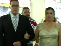 Nunta incheiata intr-o baie de sange, in Brazilia. Momentul in care un invitat scoate arma si incepe sa traga, FILMAT