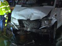Accidente în lanț pe o șosea intens circulată din capitală. Un microbuz cu 7 pasageri, implicat