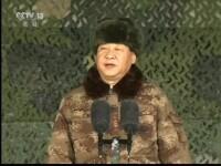 Președintele Chinei a cerut armatei să fie pregătită pentru război. VIDEO