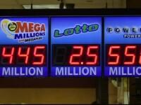 Un american a câștigat 450 de milioane de dolari la loterie