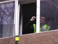 Moarte suspectă, la Târgoviște. O profesoară a căzut de la fereastra apartamentului său