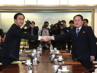 Coreea de Nord este de acord să trimită atleți la Jocurile Olimpice de Iarnă
