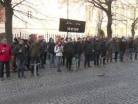Peste 150 de oameni, prezenți la protestul