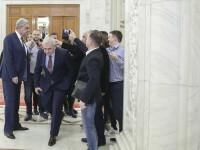 """Trei miniștri, alături de Tudose înainte de CEx al PSD: """"Orice decizie guvernamentală trebuie luată în interiorul Guvernului"""""""