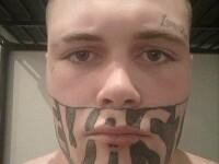 Tânărul complexat din cauza tatuajului a fost angajat. Ce post ocupă