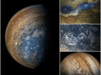 Imagini ca în filme cu Planeta Jupiter. Fotografii spectaculoase