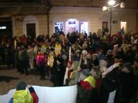 """Peste 5.000 de clujeni au ieșit în stradă: """"La mulți ani, Liviu Dragnea! Cu executare!"""""""