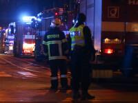 Incendiu la un hotel din Praga: patru morți și 9 răniți grav. VIDEO