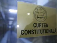 CCR analizează conflictul dintre Guvern şi Parlament privind moţiunea de cenzură