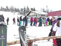 Sute de turiști sunt în Cavnic, Maramureș. Prețurile sunt mai mici cu 20 la sută