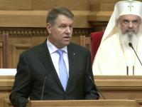 """Klaus Iohannis, invitat special la slujba de ziua micii Uniri: """"Atunci România era puternică"""""""