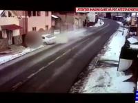 Bărbat de 60 de ani izbit mortal de o maşină condusă de un tânăr. Victima se afla pe trotuar