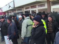 300 de angajați ai Combinatului de Oțeluri Speciale au protestat, la Târgoviște
