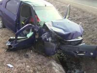 Bărbat mort într-un accident provocat de fiica lui, în Gorj