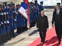 Cadoul inedit primit de Putin din partea președintelui sârb, Aleksandar Vucic. FOTO