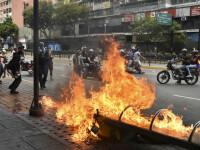 Puci în Venezuela: liderul opoziției, recunoscut președinte de SUA. Violențe pe străzi