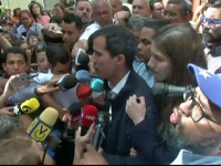 Interdicție pe 15 ani primită de liderul opoziției din Venezuela, Juan Guaido
