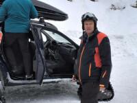 Cât costă echipamentul de schi pe care Iohannis l-a purtat la munte