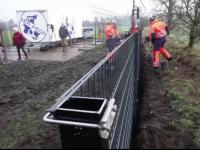 Danemarca a început să ridice un gard la granița cu Germania. Care este motivul
