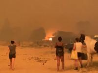 Stare de urgență în Australia. S-a ordonat evacuarea în masă a mai multor oraşe, armata intervine