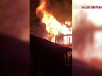 Scene de groază în Prahova. Trei familii au rămas fără locuințe în urma unor incendii