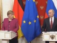 Întâlnire Merkel-Putin, la Kremlin. Cum încearcă să prevină un război mondial