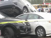 VIDEO. O tornadă care a măturat sudul SUA a lăsat în urmă mormane de mașini