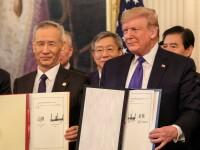 """Războiul comercial dintre China și SUA s-ar putea sfârși în curând. S-a semnat """"Faza 1"""""""