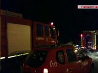 Incendii grave în Vaslui. Un bărbat a suferit arsuri grave și a fost transferat la Iași