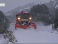 Vreme a extremelor în Spania. Ninsori abundente și inundații puternice
