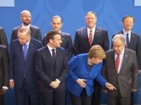 Unde e Putin? Moment amuzant la summitul privind situația din Libia. VIDEO