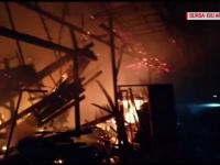 Momente de groază pentru un tânăr din Argeș. A suferit arsuri grave în urma unui incendiu