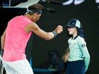 Gestul făcut de Rafael Nadal după ce a lovit un copil de mingi în cap. VIDEO