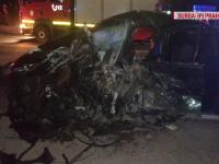 Accident în lanț în Prahova. Patru oameni au ajuns la spital