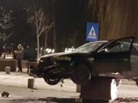 """O mașină a fost găsită """"plantată"""" de poliția din Miercurea Ciuc. Cum a ajuns acolo"""