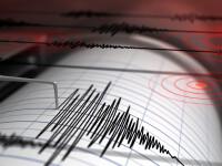 Un cutremur s-a produs sâmbătă noaptea în Vrancea