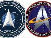 Noul logo al Forţei Spaţiale a Statelor Unite seamănă cu cel folosit in serialul Star Trek