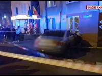 O femeie din Pitești s-a trezit cu un Audi în sufragerie. Ce explicație a dat șoferul
