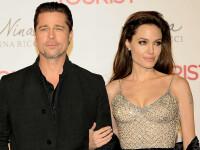 """Brad Pitt și Angelina Jolie lansează un nou brand de șampanie. """"Lucram de 3-4 ani"""""""