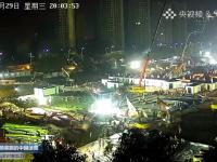 VIDEO. China transmite LIVE construcția celor 2 spitale din Wuhan. Cum arată după 8 zile