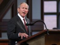 George W. Bush compară SUA cu o țară bananieră.